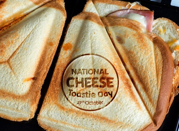 National Cheese Toastie Day!